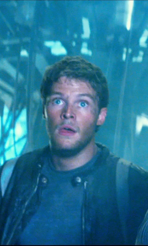 Jack Reynor with Barney's Leather Jacket Biker in Transformers: Age of Extinction