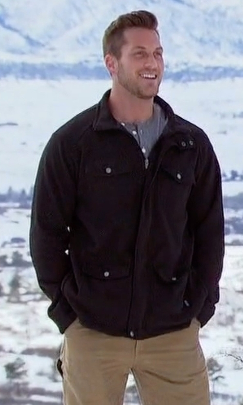 Chase with Armani Collezioni Snap-Front Field Jacket in The Bachelorette