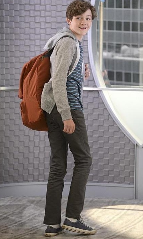 Levi Miller with Converse Chuck Taylor Sneaker in Supergirl