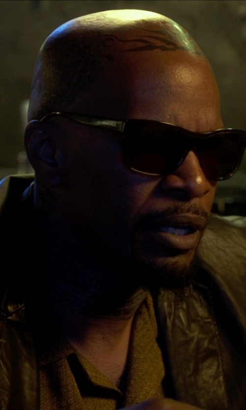Jamie Foxx with Versace VE4179 Sunglasses in Horrible Bosses 2
