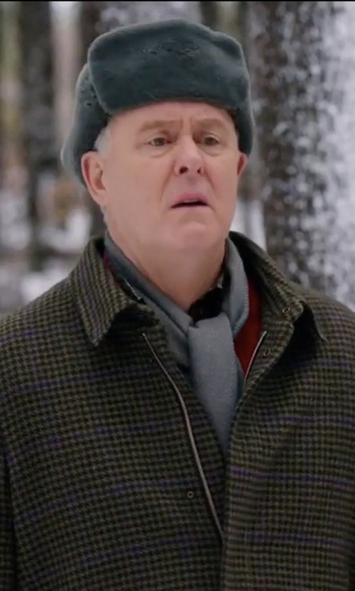 John Lithgow with Cutter & Buck Roosevelt Water Resistant Full Zip Jacket in Daddy's Home 2