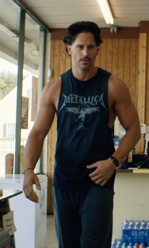 Joe Manganiello with Club Monaco Scosha Arrow Bracelet in Magic Mike XXL