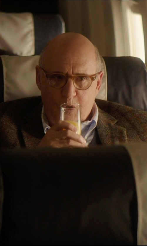Jeffrey Tambor with Peepers Rainbow Bright Wayfarer Reading Glasses in The D Train