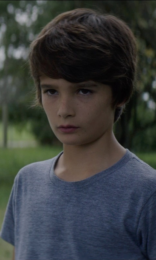 Robert Daniel Sloan with Ralph Lauren Cotton Crewneck T-Shirt in Sinister 2
