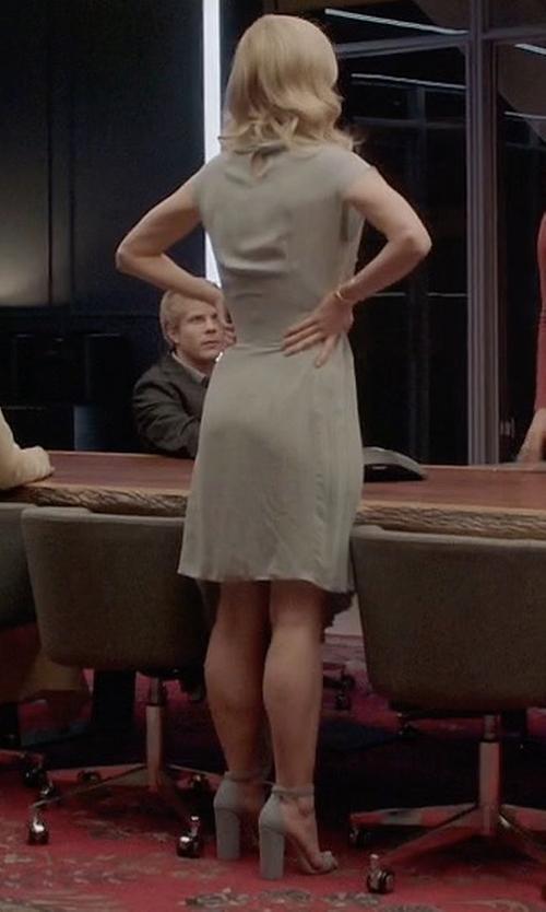 Johanna Braddy with Steve Madden Carrson Heel Sandals in Quantico