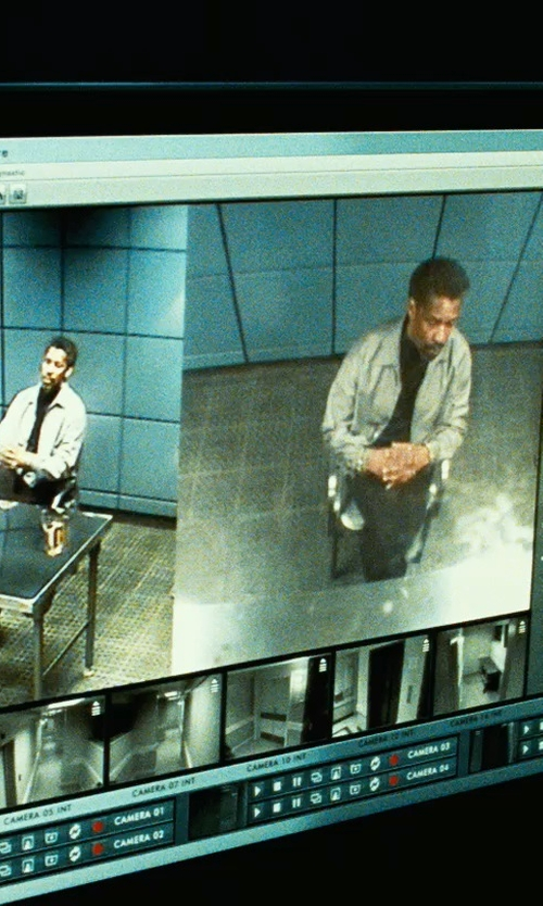Unknown Actor with Acer G236HL Bbd LED-Lit Monitor in Safe House