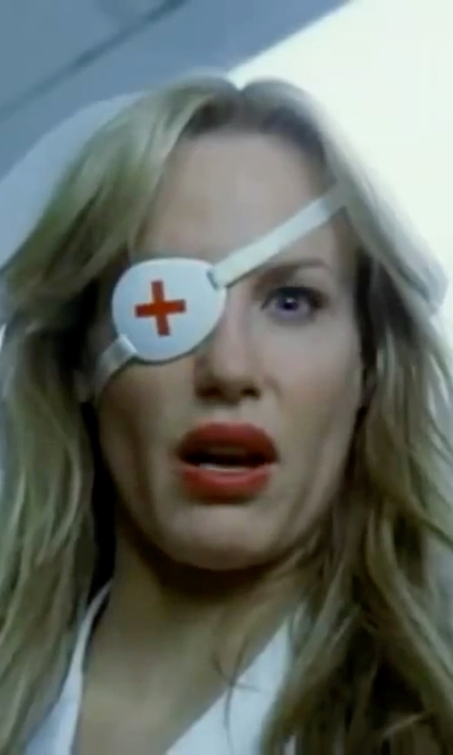 Daryl Hannah with Allycat Metalware Eyepatch Nurse Cross MK3 in Kill Bill: Vol. 1