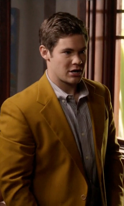 Adam DeVine with Asos Skinny Blazer in Modern Family