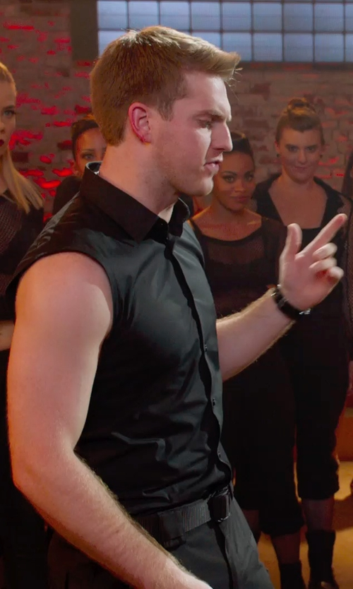 Austin Lyon with Casio G-Shock Watch in Pitch Perfect 2