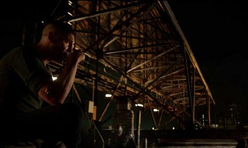 Jon Bernthal with Reis Studios Long Island City, New York in Daredevil