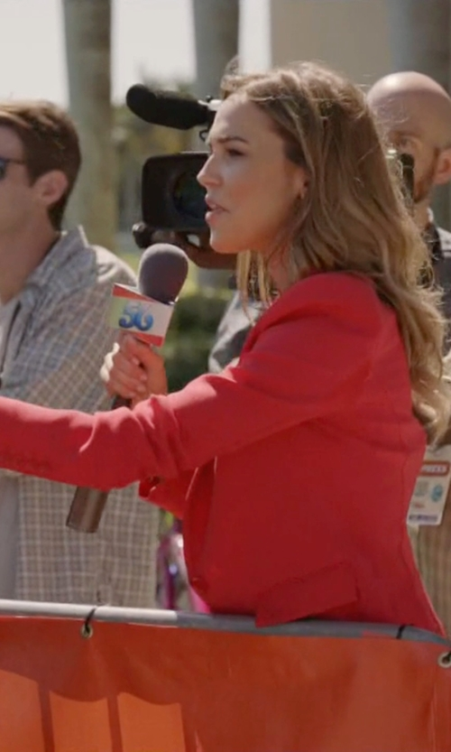 Arielle Kebbel with DSquared2 Classic Blazer in Ballers