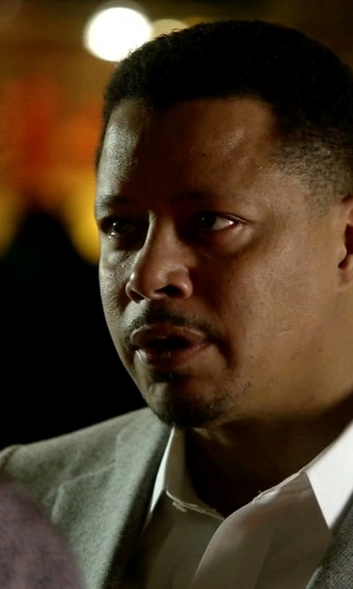 Terrence Howard  with Etero Two Piece Suit in Empire