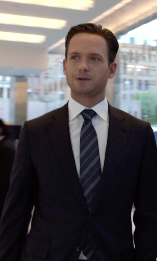 Patrick J. Adams with L'éclaireur Two Piece Suit in Suits