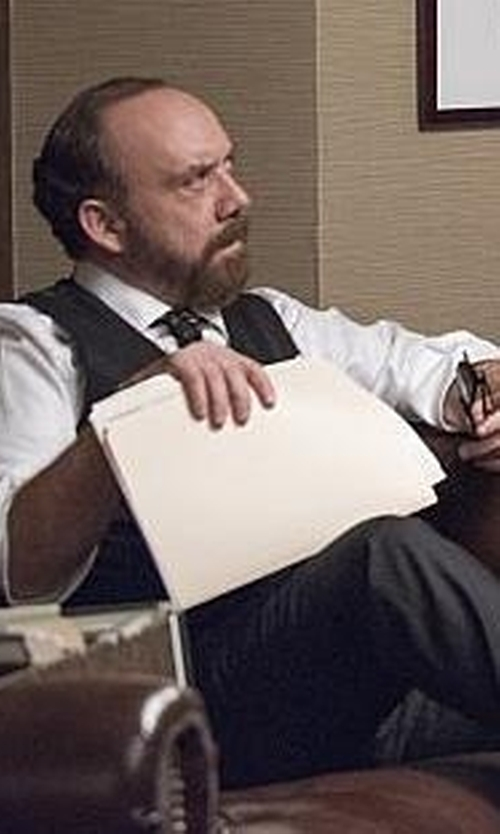 Paul Giamatti with Clarks Drexlar Easy Shoes in Billions
