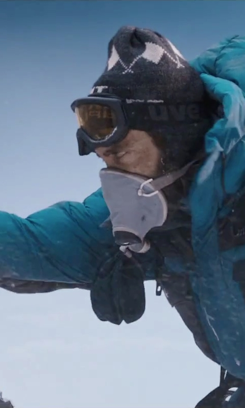 Jake Gyllenhaal with Helly Hansen Men's Motion Jacket in Everest