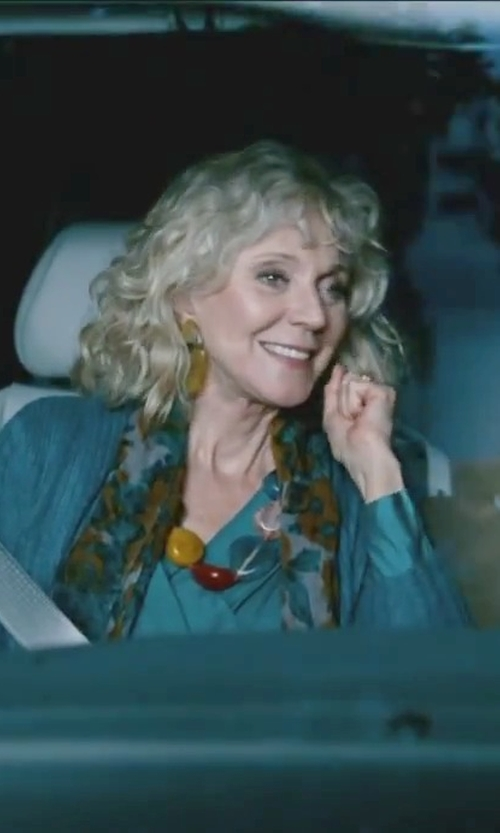 Blythe Danner with Barse Luau Genuine Multi-Stone Bright Necklace in Little Fockers