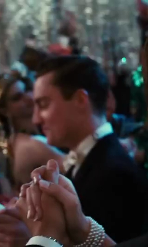 Carey Mulligan with Tiffany and Co. Daisy Hand Ornament Jewelry in The Great Gatsby