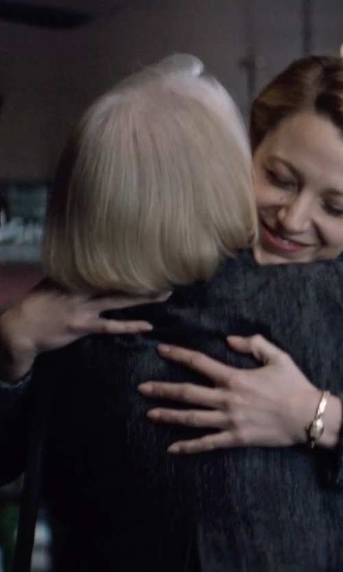 Ellen Burstyn with Hugo Tweed Coat in The Age of Adaline
