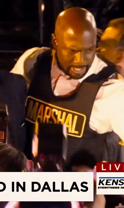 Richard T. Jones with GH Armor ProX Body Armor Vest in Hot Pursuit