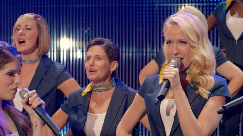 Anna Camp with Ann Taylor Loft Essential Tank in Pitch Perfect 2