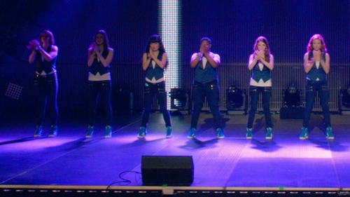 Hailee Steinfeld with Adidas Basket Profi Up Wedge Sneakers in Pitch Perfect 2