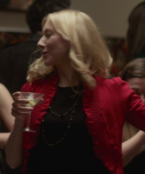Tina Benko with REDValentino Bow-Embellished Cotton-Blend Poplin Top in That Awkward Moment