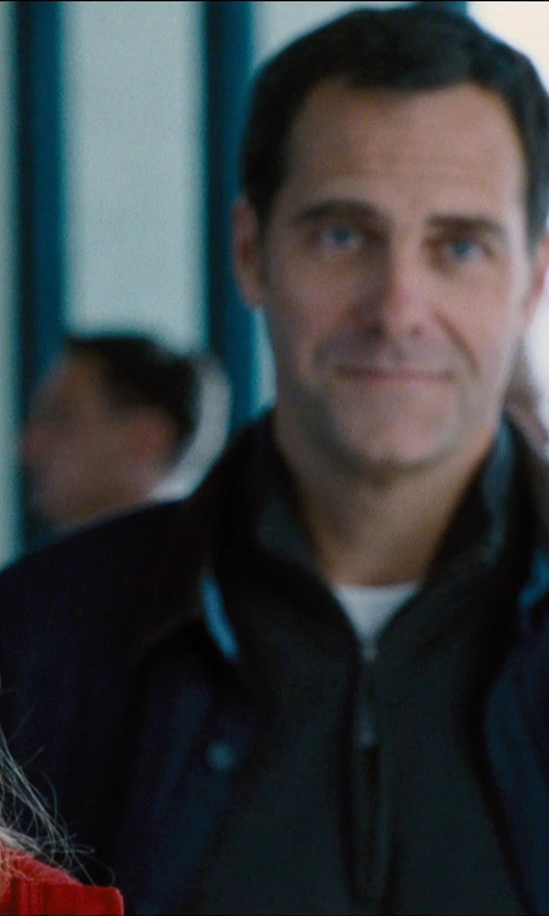 Andy Buckley with Boss Cotton Blend Track Jacket in Jurassic World