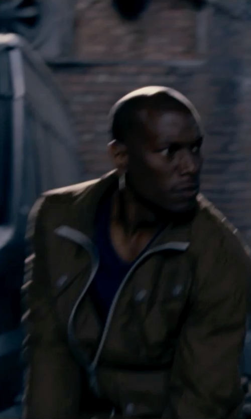 Tyrese Gibson with Michael Bastian Suede Army Jacket in Fast & Furious 6