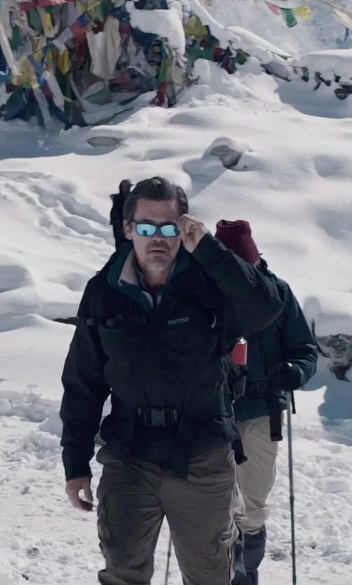 Josh Brolin with Carhartt Force Tappen Cargo Pants in Everest