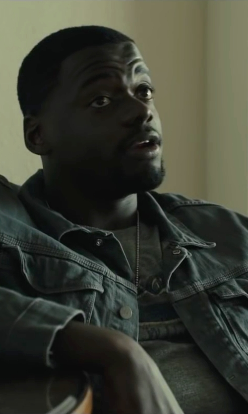 Daniel Kaluuya with Ralph Lauren Denim Jacket in Sicario
