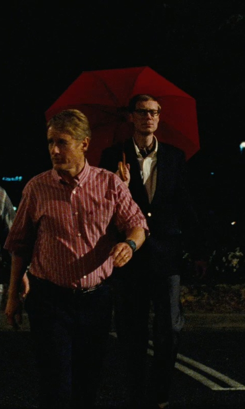 Stephen Merchant with Haas-Jordan Fashion Golf Umbrella in Hall Pass