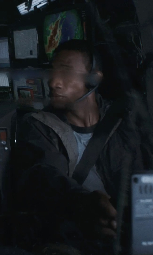 Arlen Escarpeta with iMicro SP-IMTP331 Headset With Microphone in Into the Storm