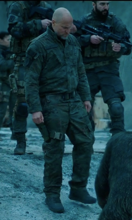 Woody Harrelson with Magnum Opus Military and Tactical Boots in War for the Planet of the Apes