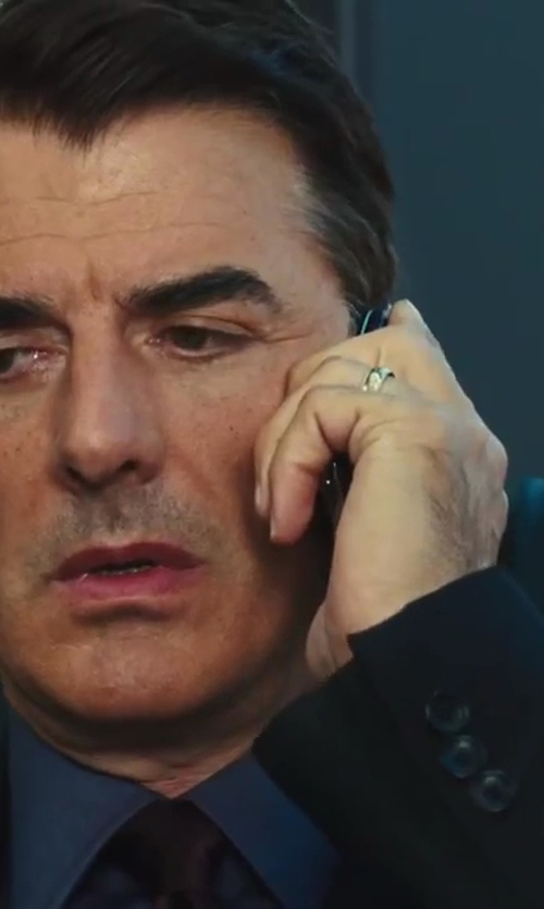 Chris Noth with Hart Schaffner Marx 'New York' Classic Fit Wool Suit in Sex and the City 2