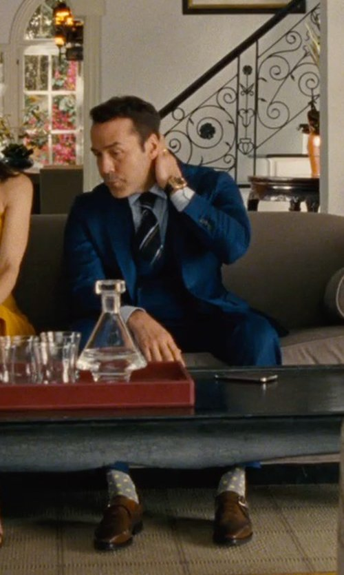 Jeremy Piven with Olivia Miles (Costume Designer) and Domenico Vacca Custom Made Monkstrap Formal Shoes in Entourage