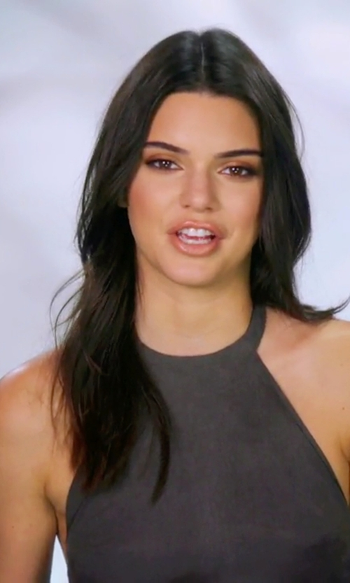 Kendall Jenner with NBD Don't Turn Back Dress in Keeping Up With The Kardashians