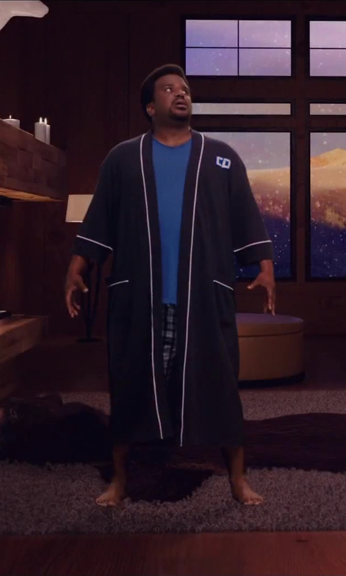 Craig Robinson with Kenneth Cole New York Men's Plaid Woven Boxer Short in Hot Tub Time Machine 2