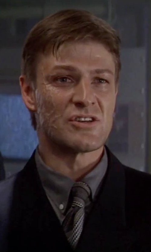 Sean Bean with Paul Smith London Two Piece Suit in GoldenEye