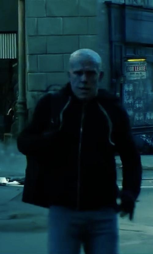 Ryan Reynolds with Rick Owens DRKSHDW SS16 Cyclops Jasons's Hoodie in Deadpool 2