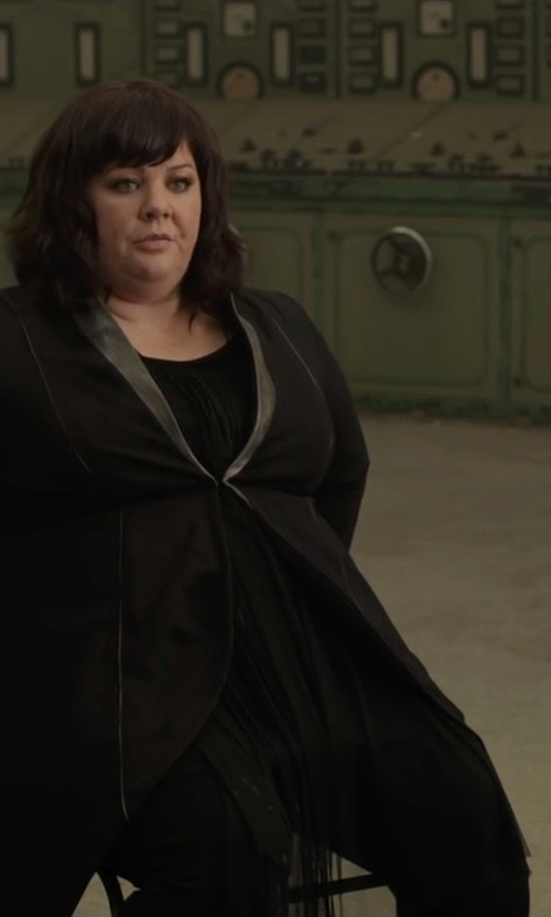 Melissa McCarthy with Pendleton Worsted Wool True Fit Trousers in Spy