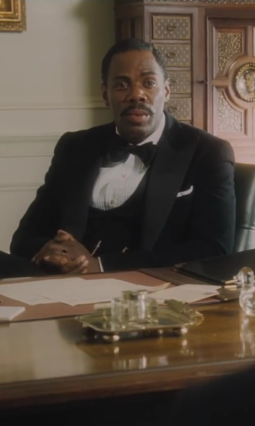 Colman Domingo with Charles Tyrwhitt Slim Fit Tuxedo Suit Vest in Lee Daniels' The Butler