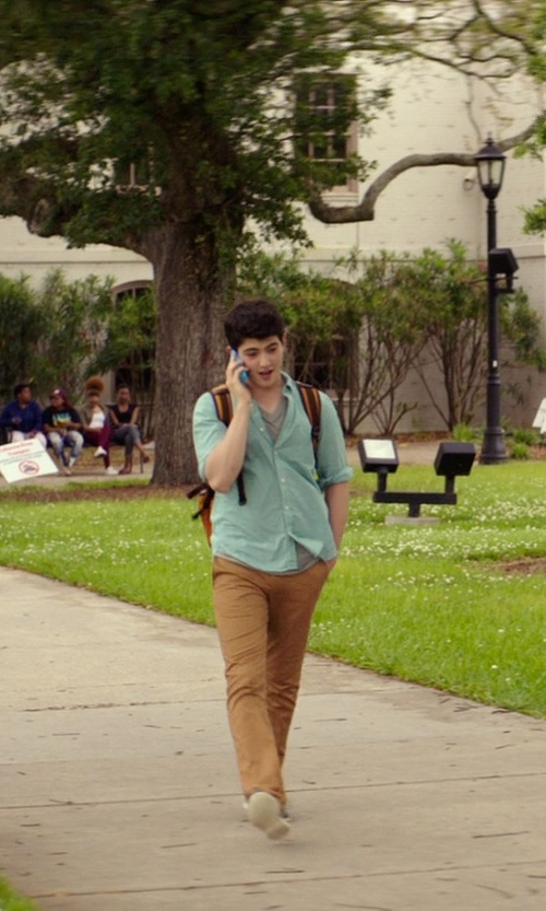 Ian Nelson with Polo Ralph Lauren Low Top Sneakers in The Best of Me