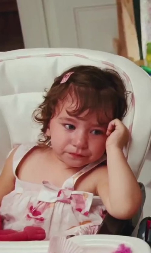 Liliana Pizzuto with Laura Ashley Baby Girls Floral Dress in Sex and the City 2