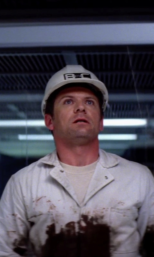Unknown Actor with Fibre-Metal Fiberglass Hard Hat w/ Ratchet Suspension, White in Transcendence