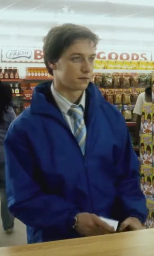 James McAvoy with Cutter & Buck CB WeatherTec Blakely Jacket in Wanted