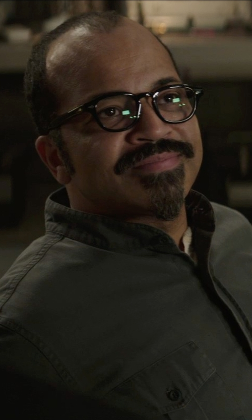 Jeffrey Wright with Kurt and Bart (Costume Designer) Custom Made Men's Coverall (Beetee) in The Hunger Games: Mockingjay Part 1