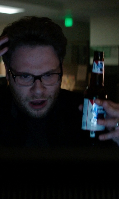 Seth Rogen with Pabst Blue Ribbon 12 OZ Beer Bottles - 6 pack in Neighbors