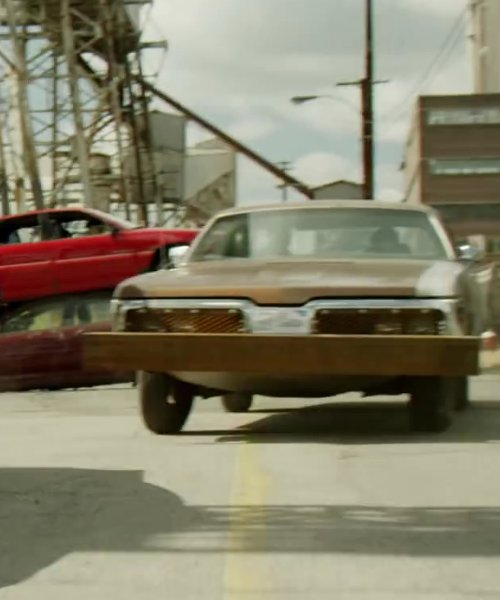 PLYMOUTH FURY in Brick Mansions