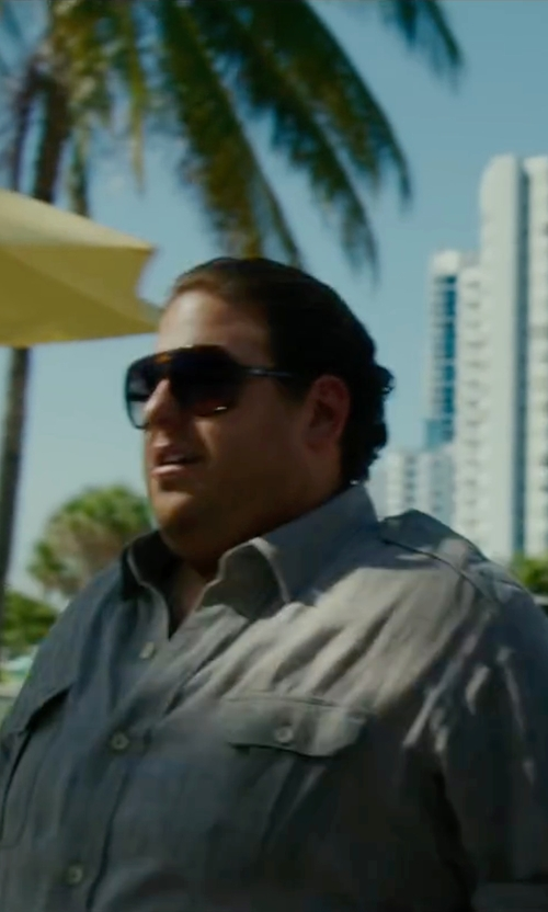 Jonah Hill with Robert Friedman Two Pocket Shirt in War Dogs