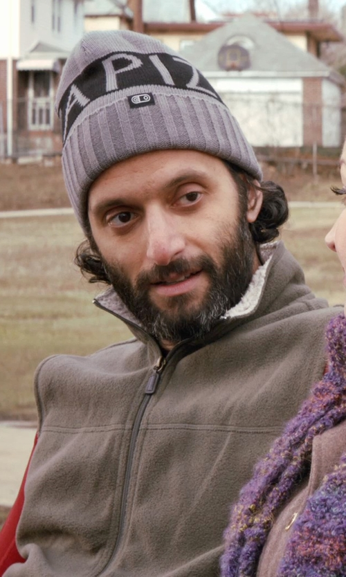 Jason Mantzoukas with Bills Khakis Highland Polartec Fleece Vest in Adult Beginners